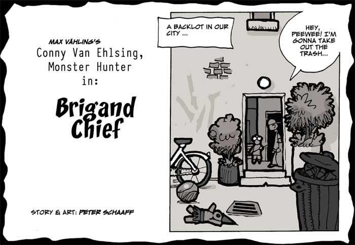 Peter Schaaff: Brigand Chief
