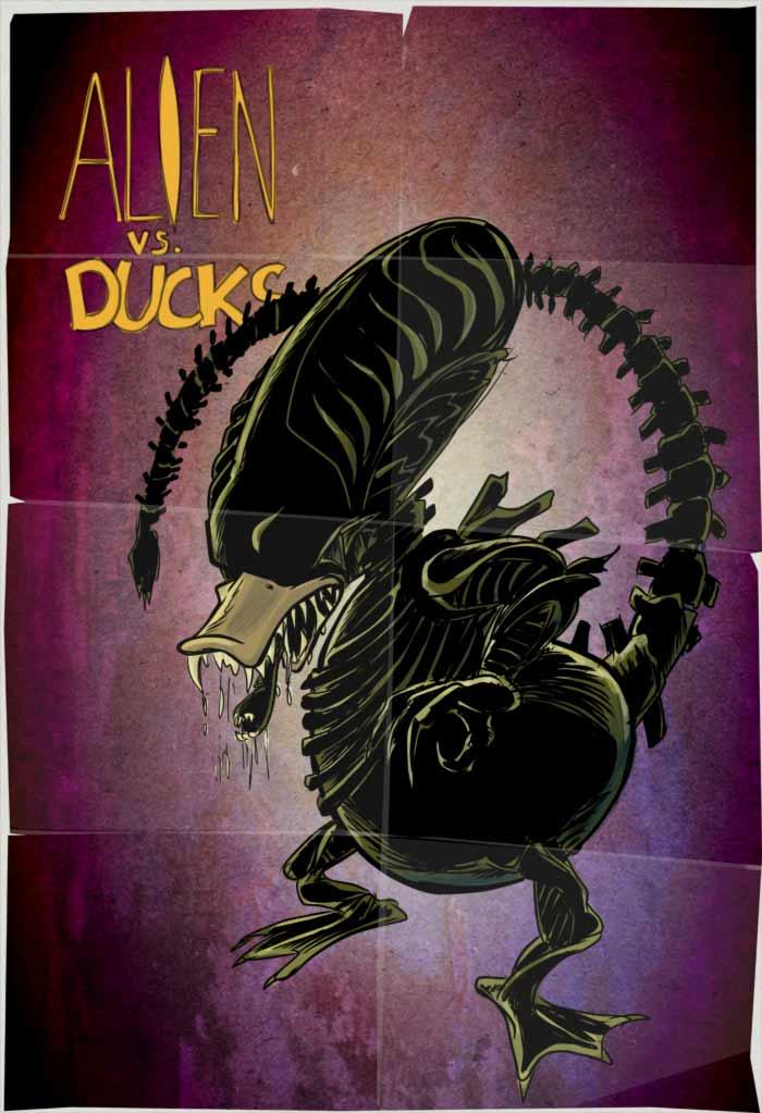 Alien vs. Ducks