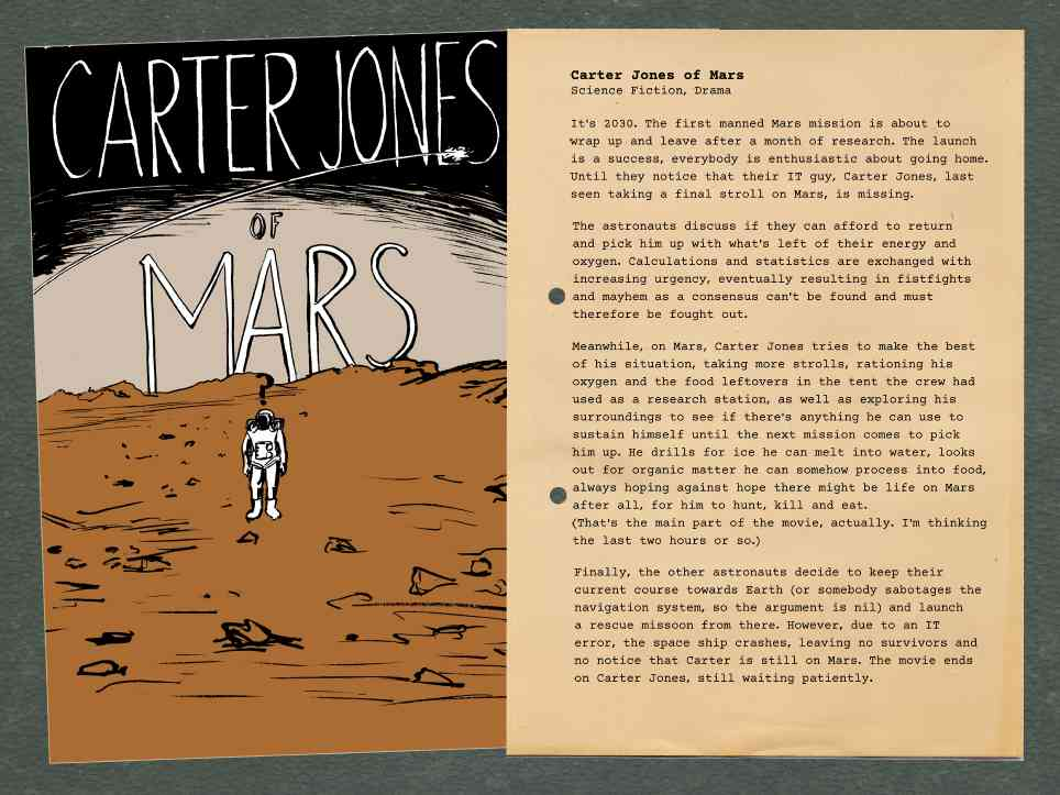 Dreadful Pitches: Carter Jones of Mars