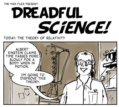 Dreadful Science: Accelerated Banana