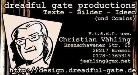 V.i.S.d.P. usw. Christian Vaehling, Bremen, Germany