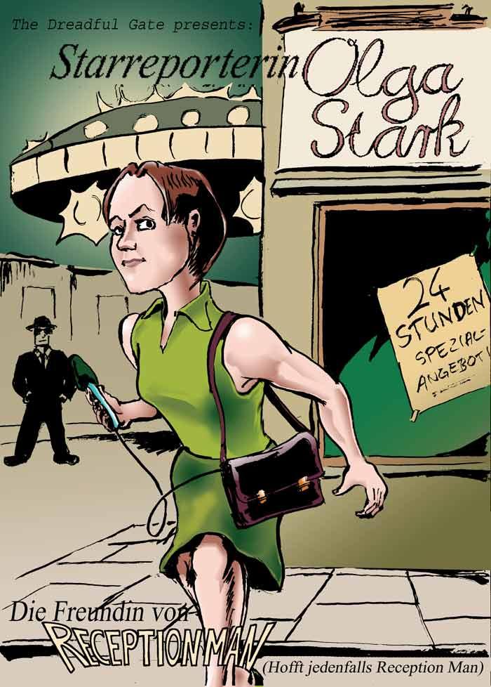 Starreporterin Olga Stark – Cover 3 (von 3)