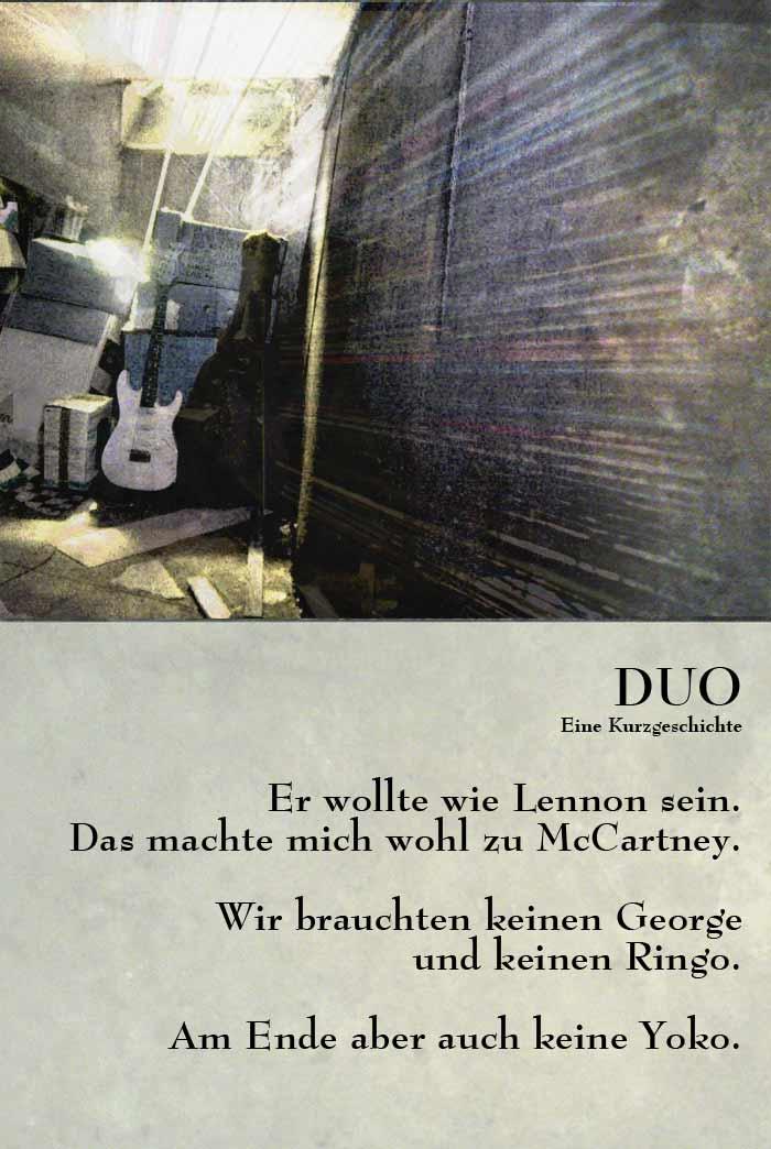 Duo. Eine Kurzgeschichte