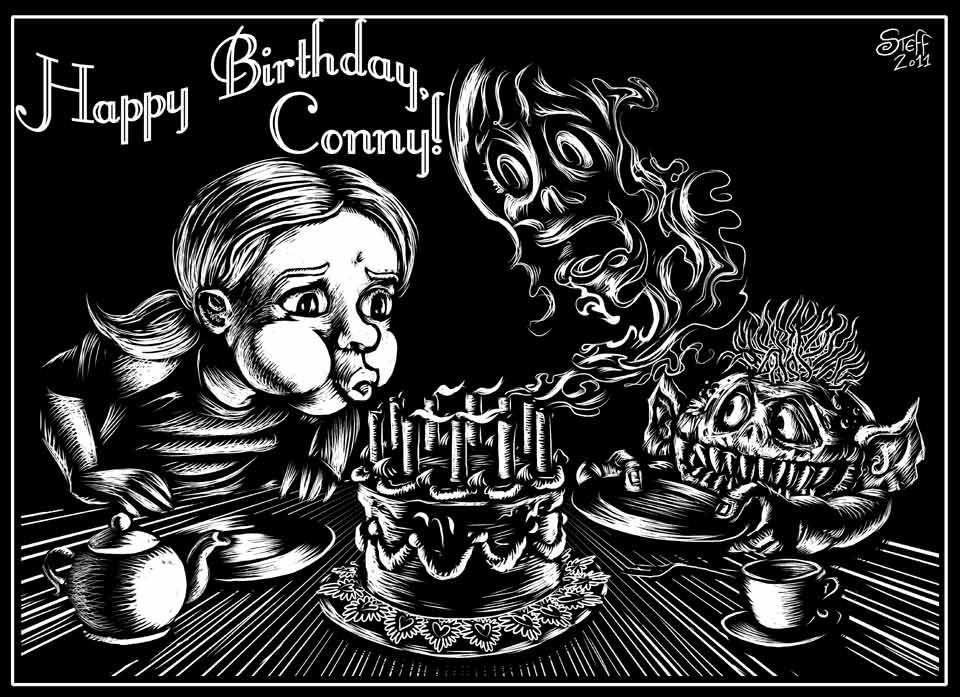 10 Jahre Conny Van Ehlsing! Geburtstagsgast: Steff Murschetz