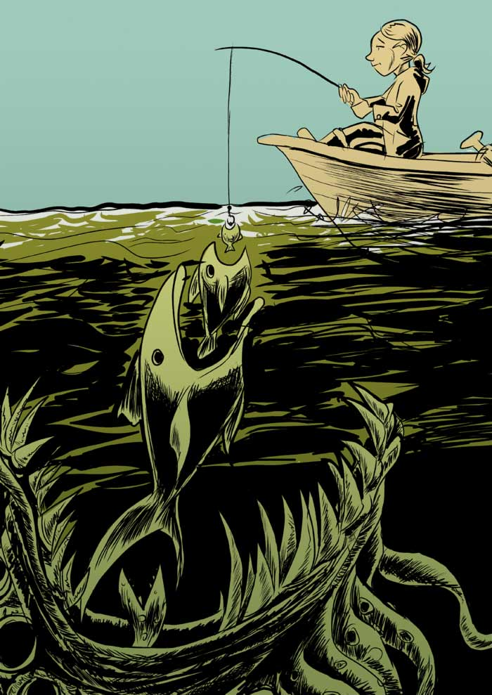 Monsterjägerin Conny Van Ehlsing: Es geht nie um den Fisch