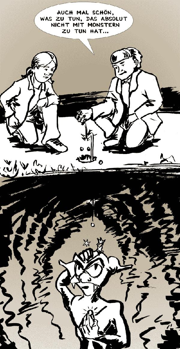 Nichts mit Monstern