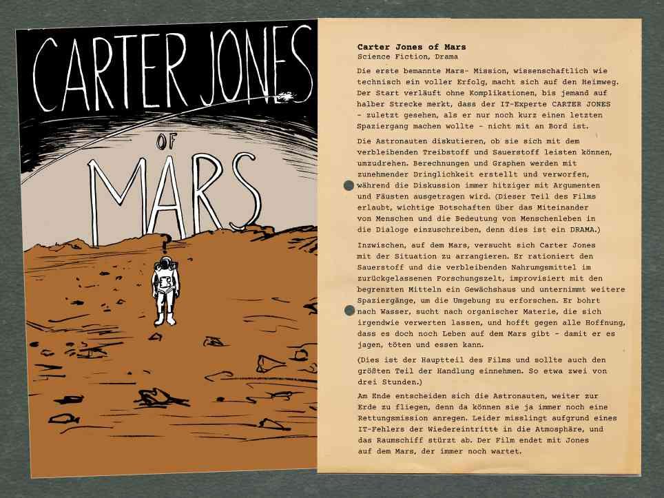 Dreadful Pitches: Carter Jones vom Mars
