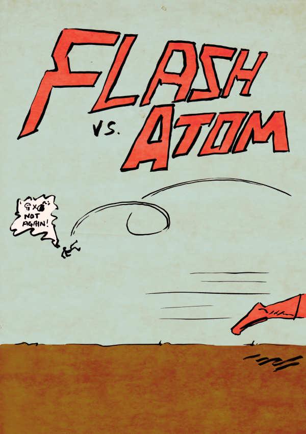 Flash! Atom! Crossover!